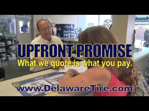 The Delaware Tire Upfront Promise