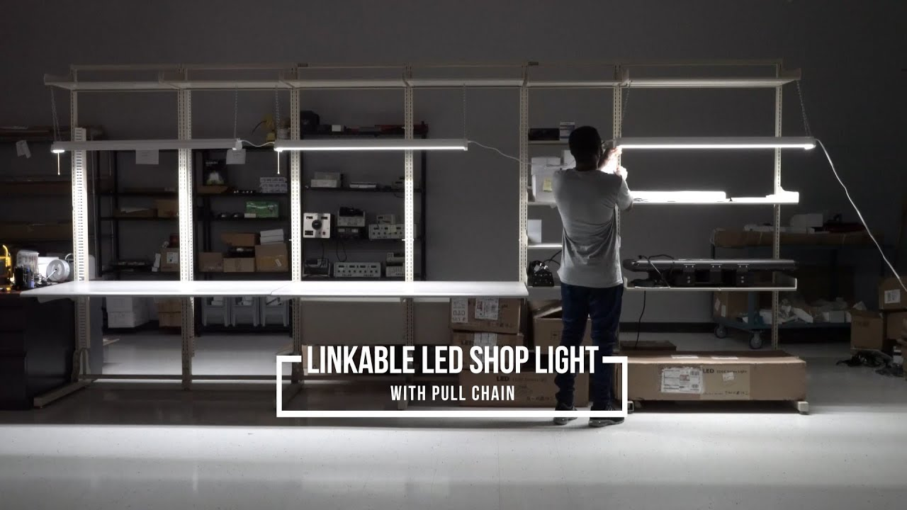 Linkable Led Shop Light Youtube