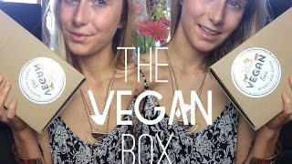The Vegan Box (monthly Subscription Box) Unboxing/ Haul