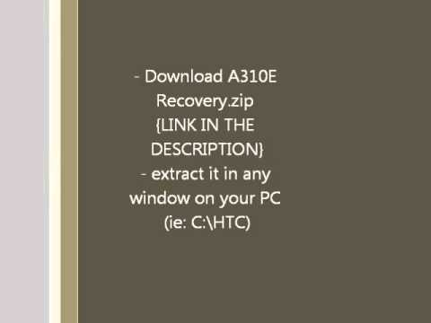 How to root HTC Explorer !