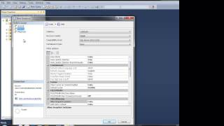Create Database IN Microsoft SQL2012 Management Studio