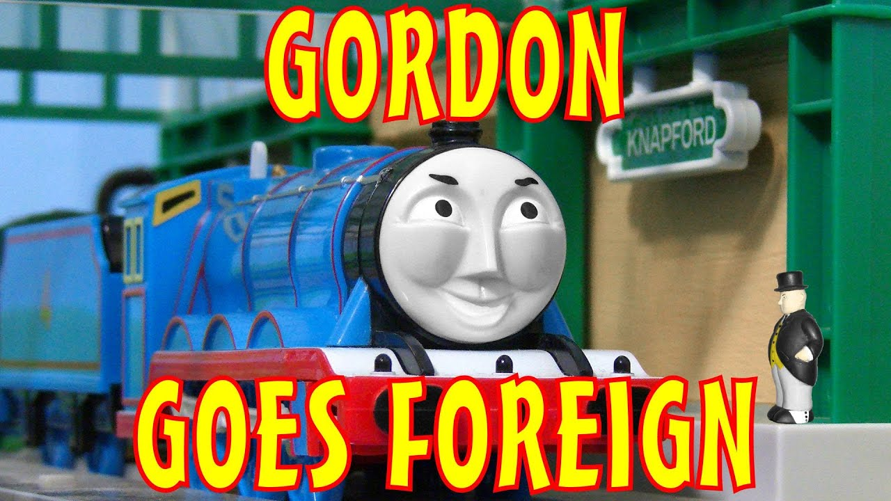 Thomas and friends gordon goes foreign book