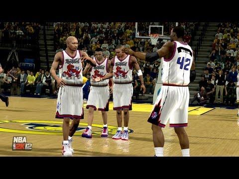 NBA 2K14: Toronto Raptors vs. Indiana Pacers (1999-2000 NBA season)
