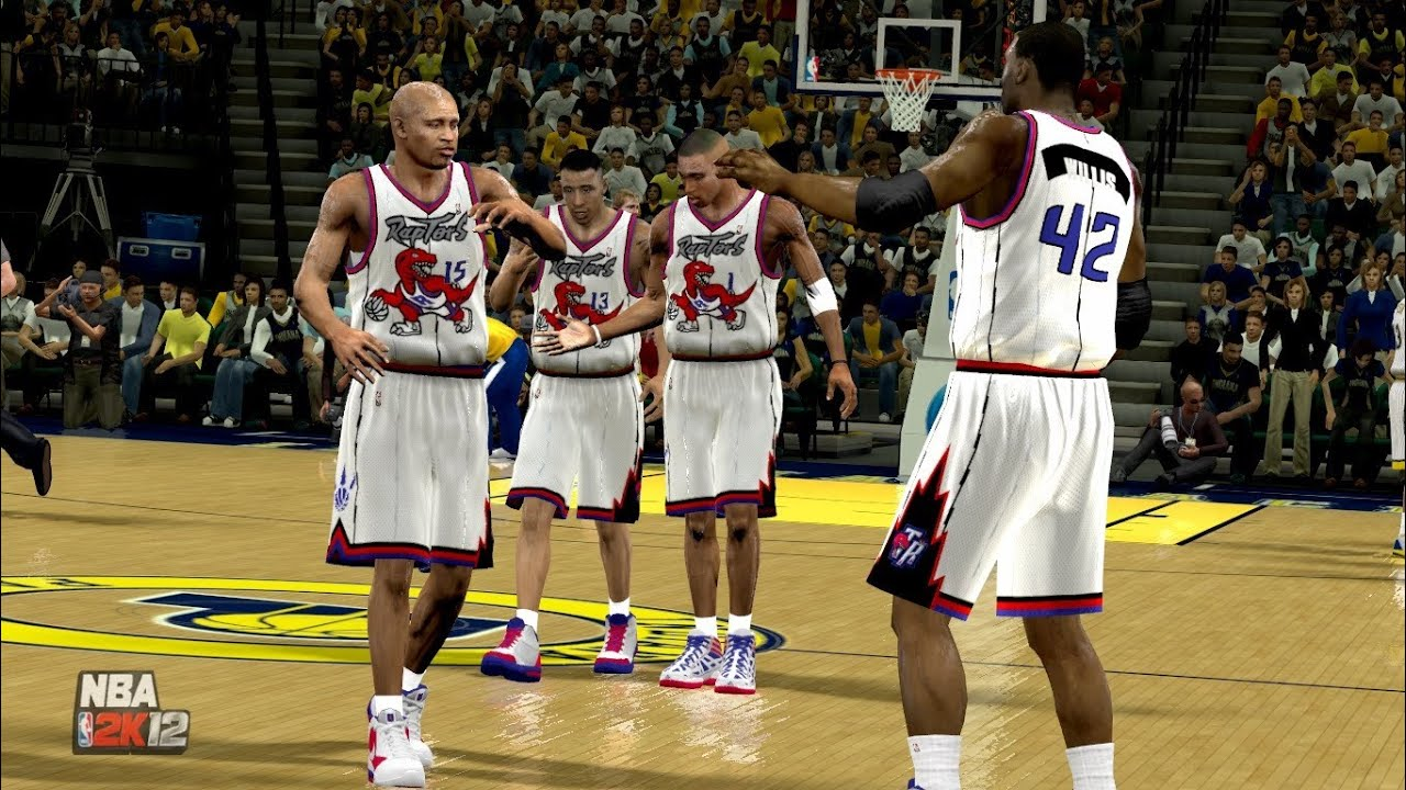 NBA 2K14: Toronto Raptors vs. Indiana Pacers (1999-2000 NBA season) - YouTube