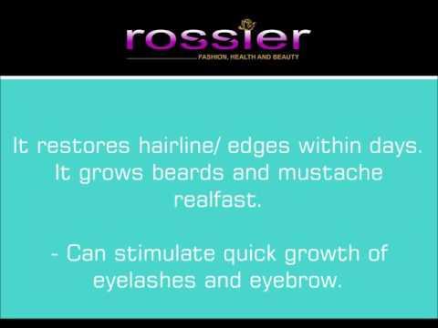 Copy of Amazing Organic Hair Grower. 100% By El-glittas