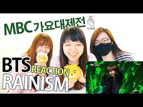 BTS - Rainism (TOO EVIL!!) @2016 MBC Gayo Daejeon [Reaction]   Army有嘢港