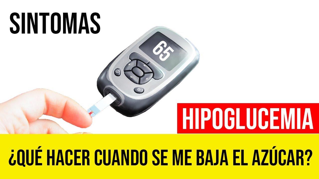 ¿como subir la la glucosa cuando se me baja el azúcar? 📈 hipoglucemia sintomas