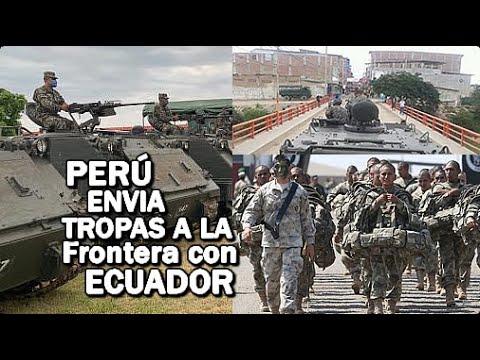 🔴ALERTA: Perú Envía Tanques Y Helicópteros A La Frontera Con Ecuador