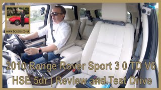 Review and Virtual Video Test Drive In Our 2010 Range Rover Sport 3 0 TD V6 HSE 5dr BX10HSV 2