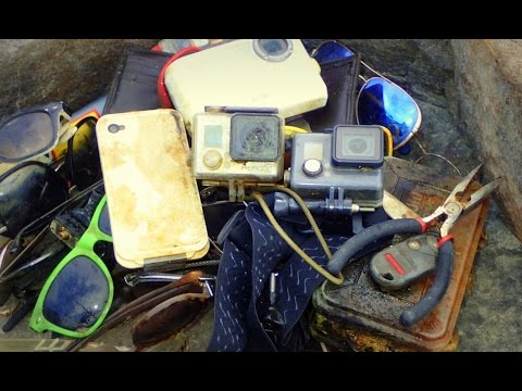 River Treasure: 2 GoPros, iPhone, Camera, Wallet with Cash,