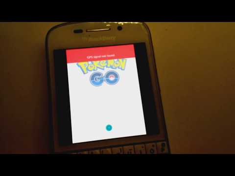 Pokémon Go on Blackberry 10 - Installation in the Description! (Early version)