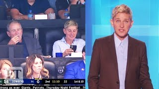 Ellen Defends George W. Bush Friendship