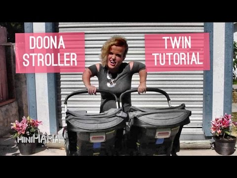 Doona Stroller - Single to Dual Twin Strollers How To Tutorial - Mini Mama - Terra Jole'