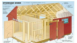 Shed Plans Blueprints - How To Build A Shed With The Best Blueprints And Plans