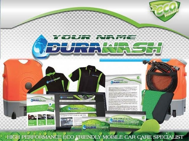 DURAWASH - DIRTY TOYOTA - a DURASHINE TECHNOLOGIES Waterless Car Wash- Franchise