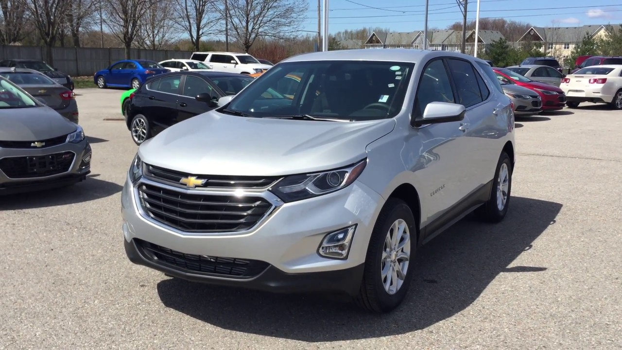 2018 chevrolet equinox lt awd silver ice metallic roy nichols motors courtice on youtube. Black Bedroom Furniture Sets. Home Design Ideas