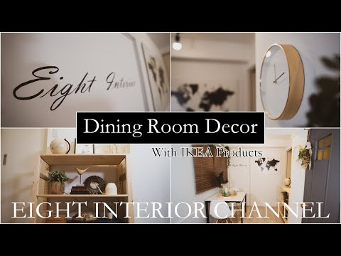 DIY DINING ROOM DECOR #3 WITH IKEA PRODUCTS