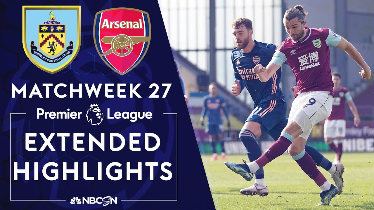 Burnley v. Arsenal | PREMIER LEAGUE HIGHLIGHTS | 3/6/2021 | NBC Sports
