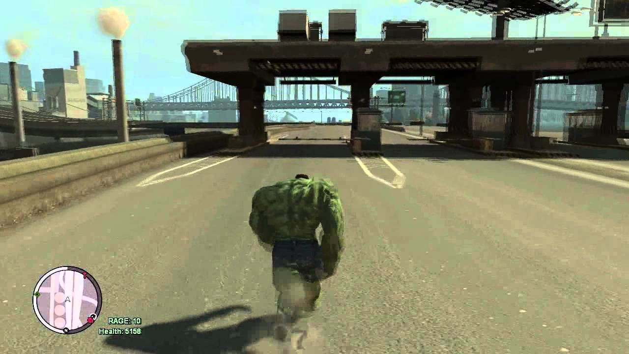 how to become hulk in gta 4 ps3