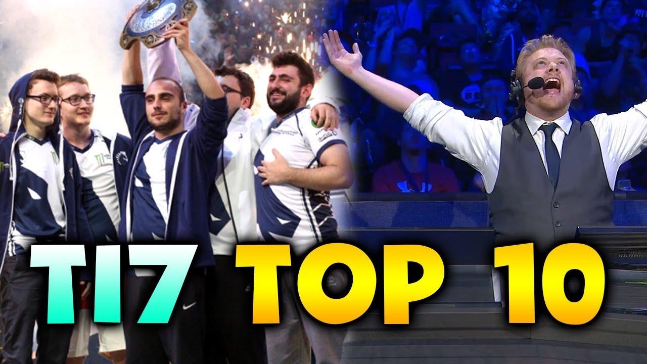 TI7 TOP 10 BEST MOST AMAZING MOMENTS DOTA 2 ClipFAIL