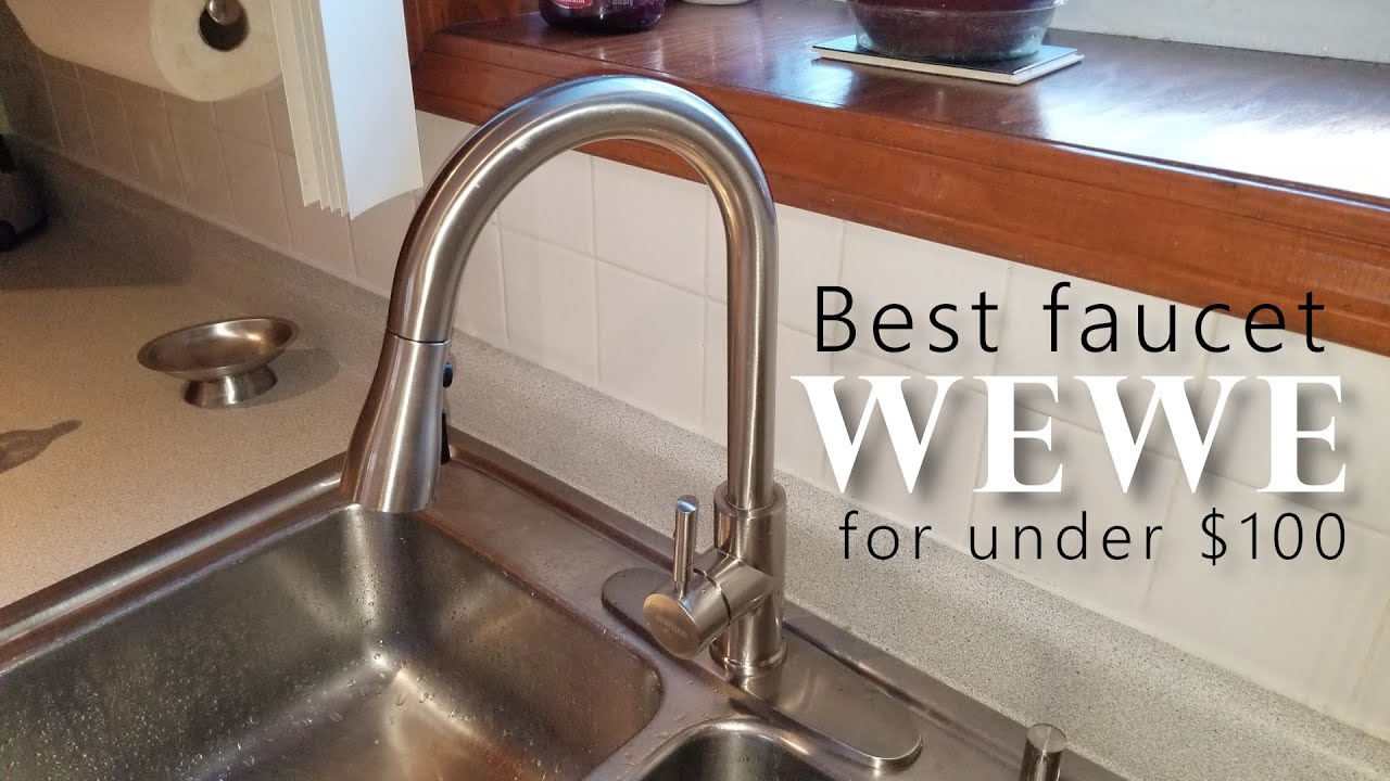the best faucet for under 100 dollars wewe single handle high arc faucet