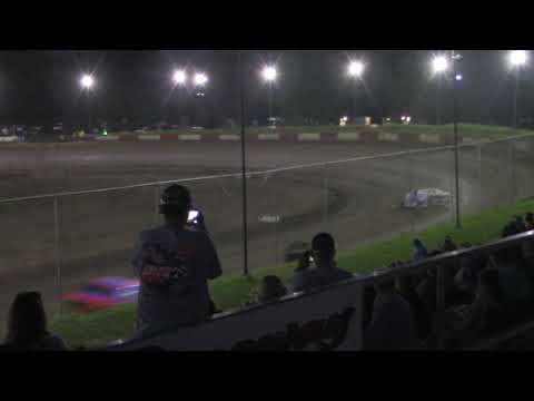 Peoria Speedway 8-10-19 Crate Modified Feature Highlights