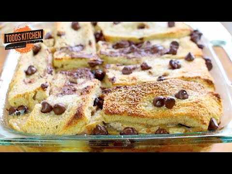 Chocolate Banana Bread Pudding