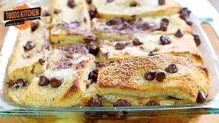 Chocolate Banana Bread Pudding