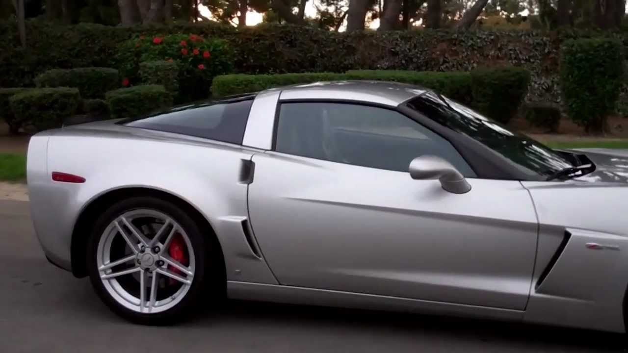 Sold C6 2006 Silver Corvette Z06 For 4 By Mike Anaheim California