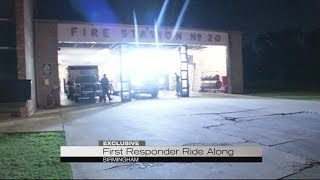 First responders ride along