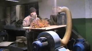 Измельчение бронзовой стружки ИПМ 1 45,0 кВт(Более подробная информация о дробилках ИПМ здесь: www.kbmpp.ru., 2015-01-12T09:10:19.000Z)