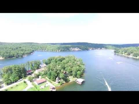 """""""The Goose"""" - Goose Creek Lake by sky! (Drone video)"""