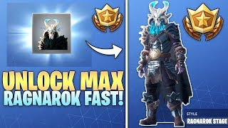 Fortnite UNLOCK MAX Ragnarok Fast - Secrets To Unlocking Stage 5 Ragnarok FAST