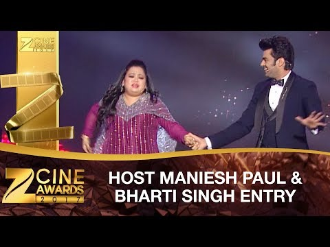 Manish Paul & Bharti Singh | Opening Event | PART 1 |  Zee Cine Awards 2017