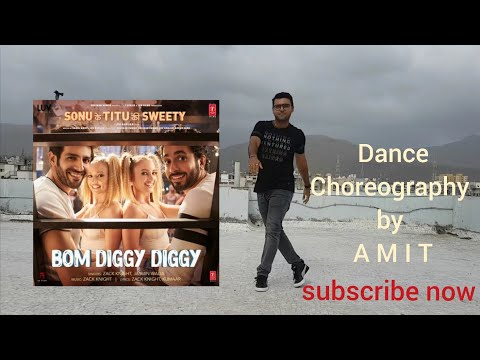 Bom Diggy vs Mi Gente Remix   Full Dance Simple Choreography for Beginners   Dance fitness with Amit