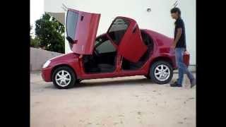 Lambo door traseiro Tuning doors - Portas verticais (Lambo door para as portas de traz)