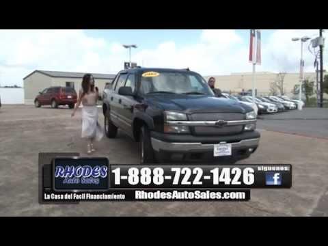 Rhodes Auto Sales Houston Car Dealership