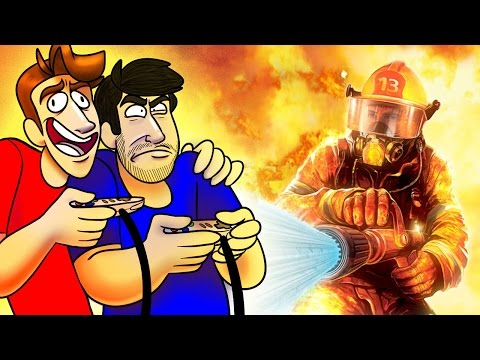 SuperMega Plays REAL HEROES: FIREFIGHTER  