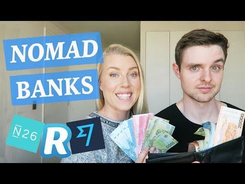 NOMAD BANKING TIPS - N26, Revolut, Transferwise etc