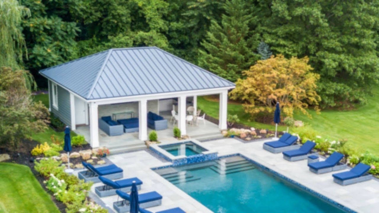 29 Pool House Design Ideas Part 6 Youtube