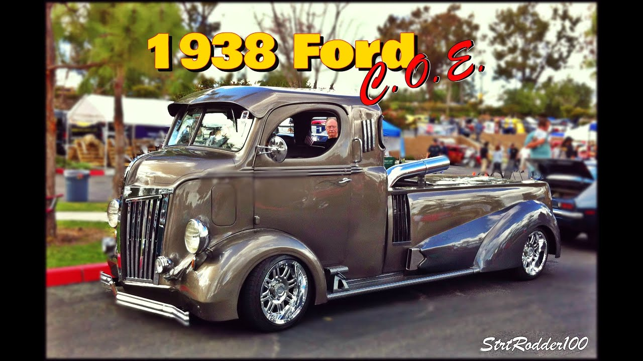 1940 Ford Pickup Trucks For Sale 1938 Ford COE Full Custom - YouTube