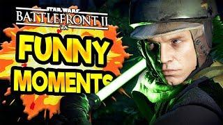Star Wars Battlefront 2 Funny & Random Moments [FUNTAGE] #35
