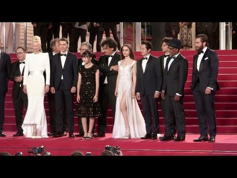 Tilda Swinton, Jake Gyllenhaal, Lily Collins and more at the 70th Cannes Film Festival