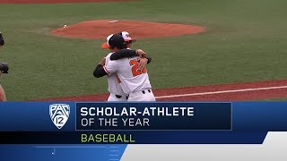 Oregon State's Jack Anderson named 2018 Pac-12 Baseball Student-Athlete of the Year