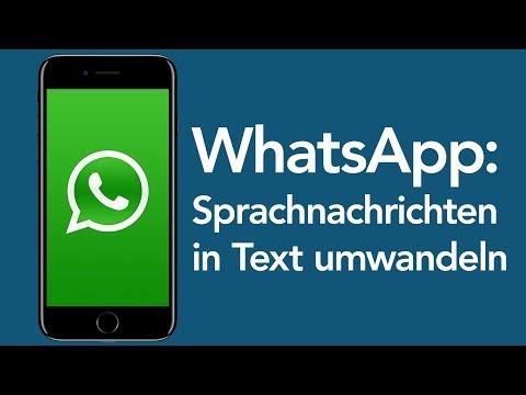 WhatsApp Tricks: Sprachnachrichten in Text umwandeln