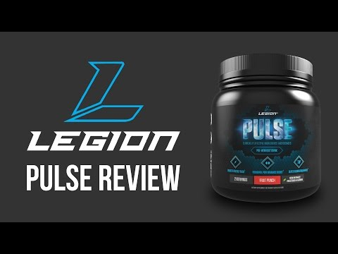 LEGION ATHLETICS PULSE PRE-WORKOUT | In-depth review