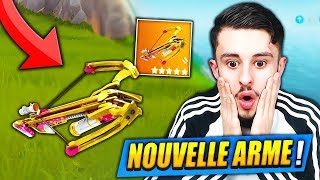 THE NEW ARME -ARBALETE - I'm SHOCKED on FORTNITE: Battle Royale!! (CHEAT)