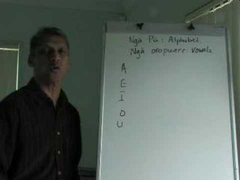 Maori Language Lessons - vowel-song