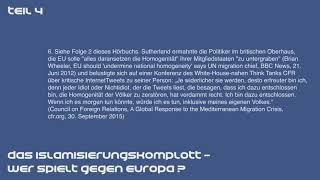 Das Islamisierungskomplott  -  Wer spielt gegen Europa | Teil 4