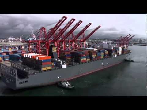 On the Go: Big ship arrives in Long Beach